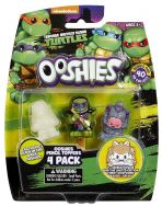 Ooshies 4 Pack Teenage Mutant Ninja Turtles - Dojo Donatello, Krang